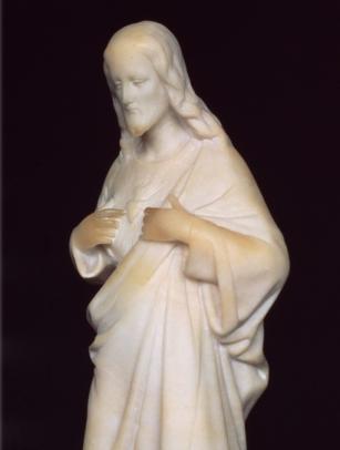 Imagen del Sagrado Corazón perteneciente a Doña Lucilia