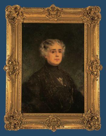 Cuadro de Doña Gabriela