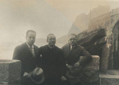Plinio con Monseñor Pedrosa